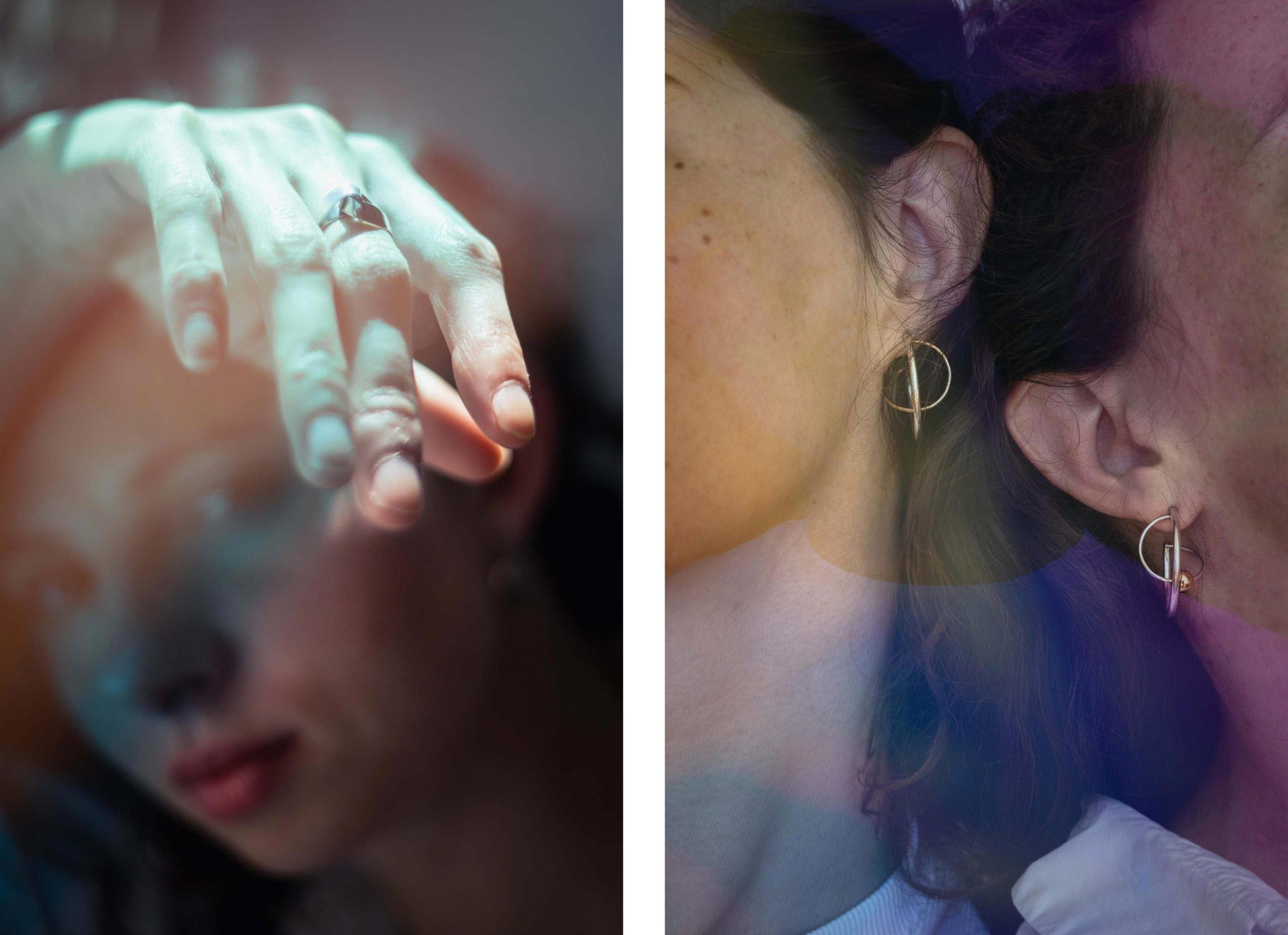 Lookbook et photoshoot de la collection Oxyde et Tegala de Keraban Joaillerie
